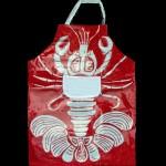 Vinalized apron