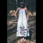 Silkscreened dress