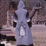 Silkscreened coat
