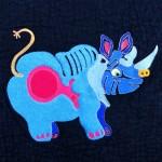 Mommy rhino