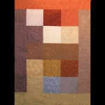 Full flannel quilt back