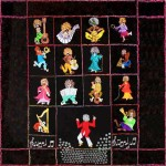 King flannel quilt/embroidery