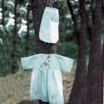 Baby dress and bag back