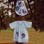 Baby dress and bag