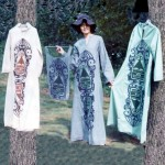 Silkscreened Kaftans