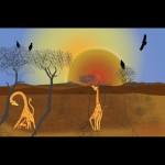 African dawn  Giclee'
