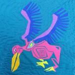 Pelican left