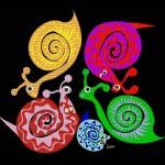 Slimy snail family